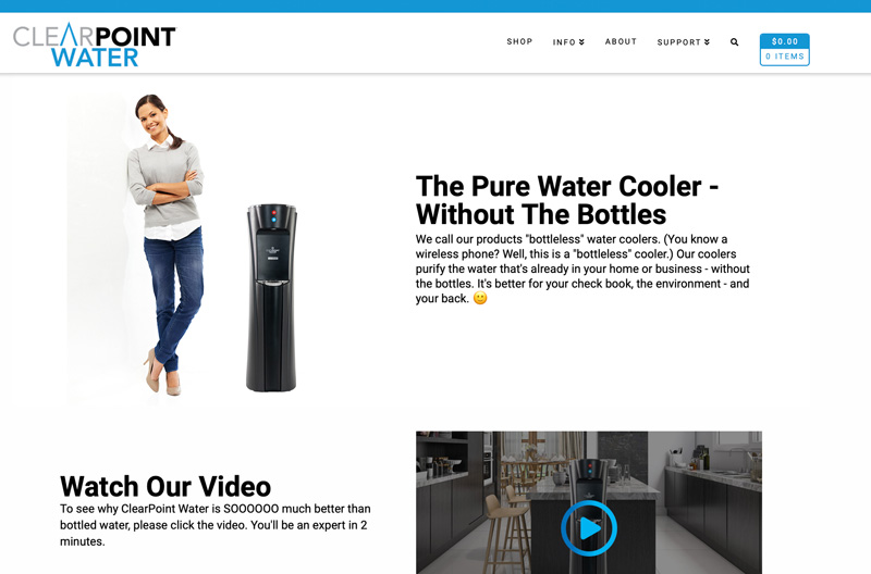 ClearPoint Water